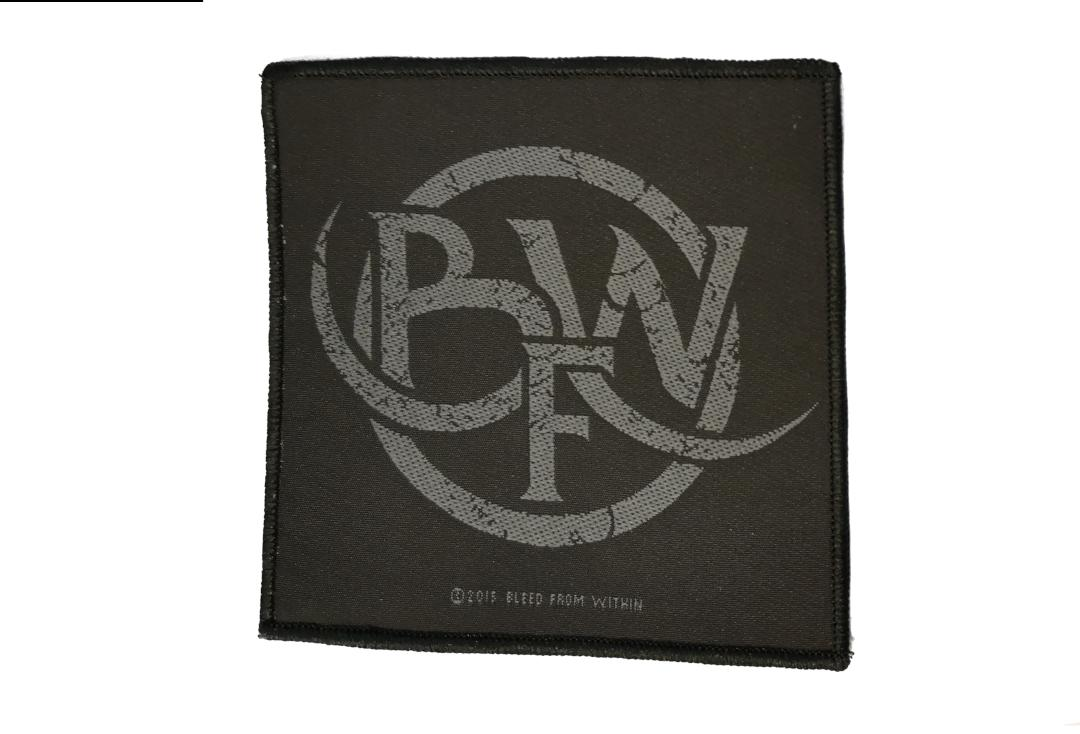 Official Band Merch | Bleed From Within - Logo Woven Patch