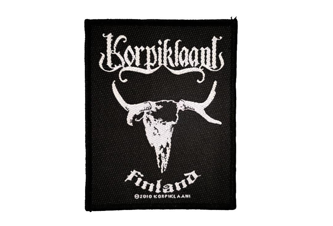 Official Band Merch | Korpiklaani - Finland Woven Patch