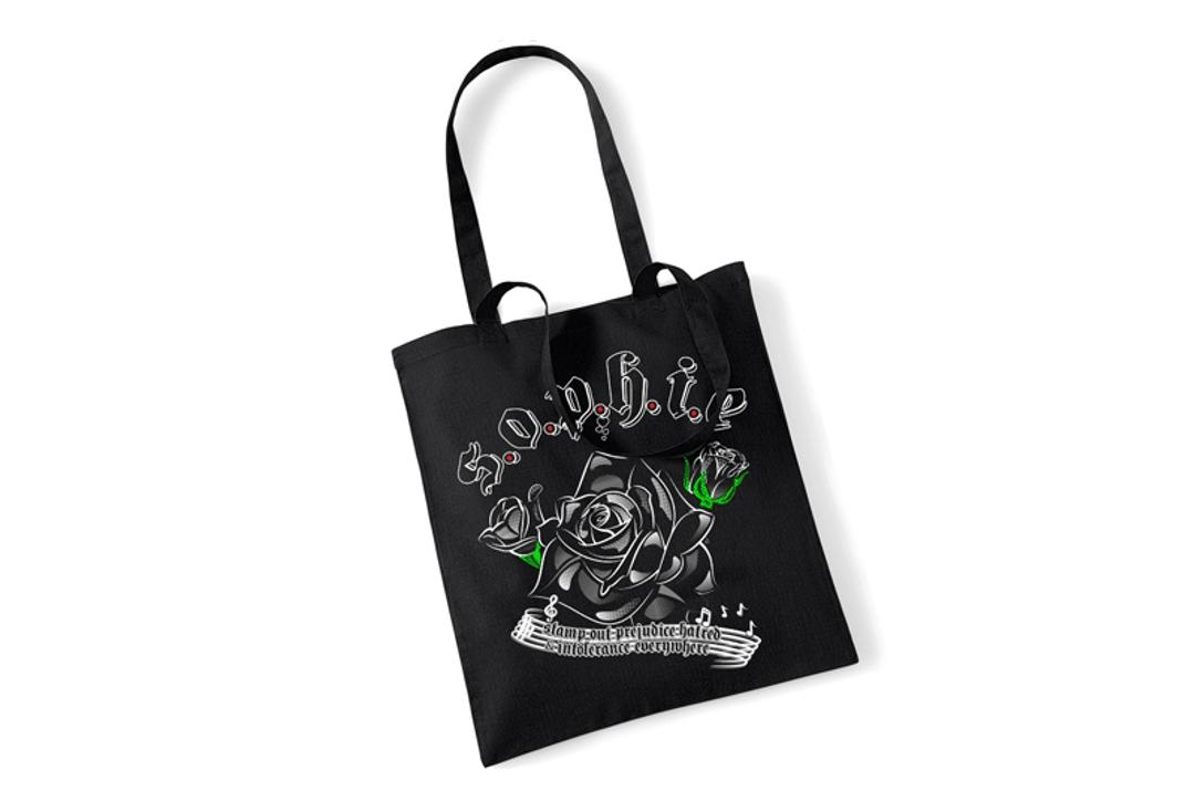 Sophie Lancaster Foundation | Black Rose Tote Bag