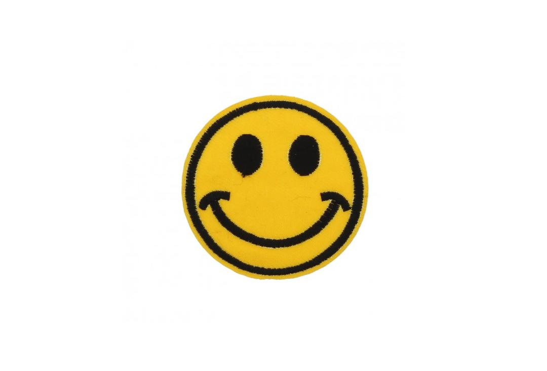 Official Band Merch | Smiley Woven Patch