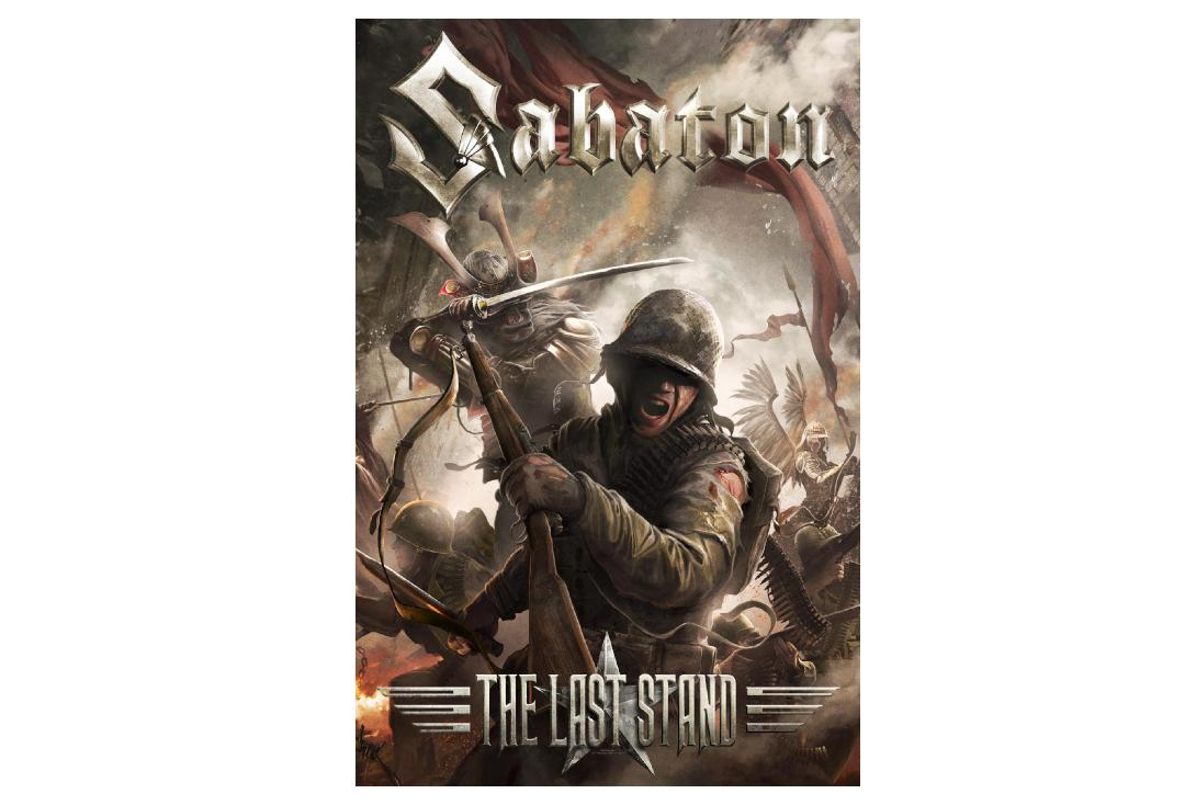 Official Band Merch | Sabaton - The Last Stand Printed Textile Poster