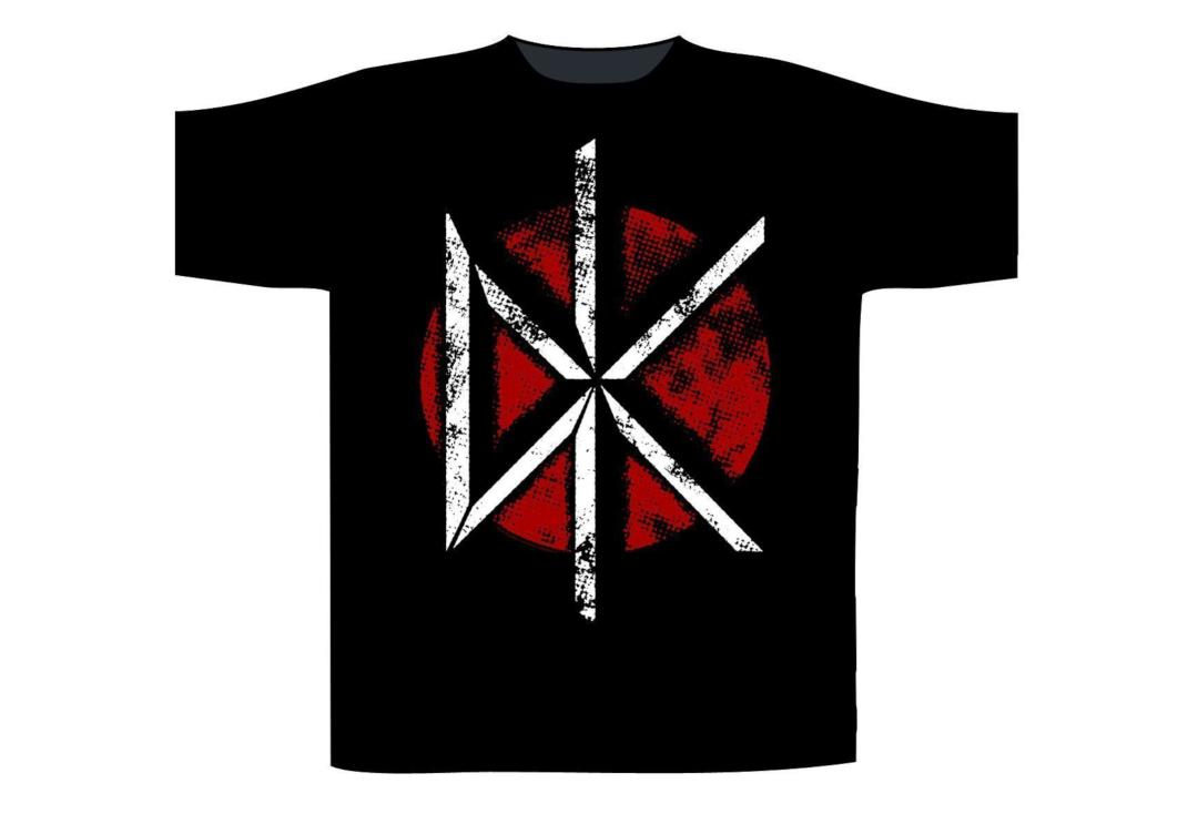 Official Band Merch | Dead Kennedys - Vintage logo Men's Short Sleeve T-Shirt