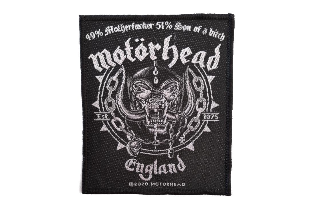 Official Band Merch | Motorhead - Ball & Chain Woven Patch