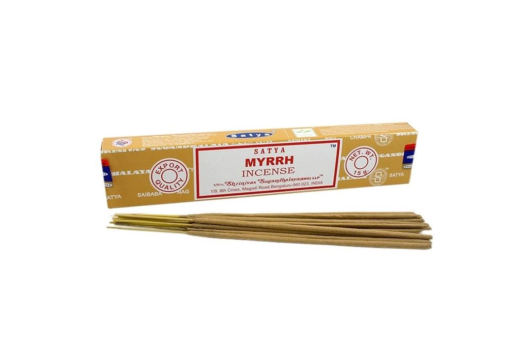 Satya | Myrrh Incense Sticks