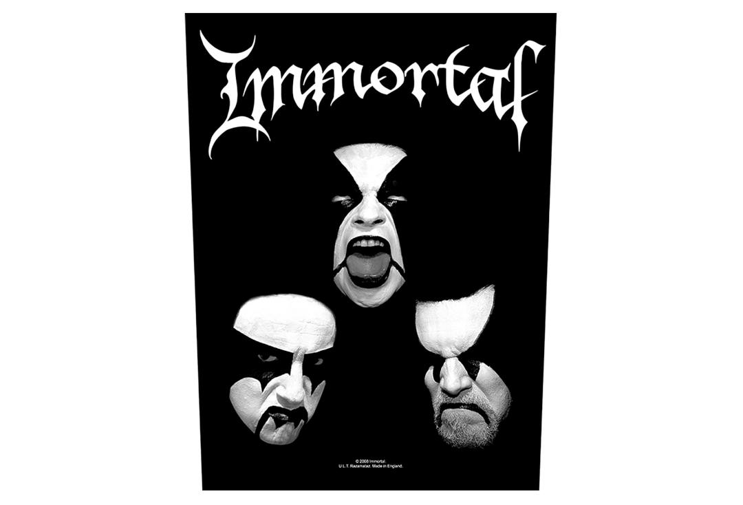 Official Band Merch | Immortal - Blashyrkh Printed Back Patch