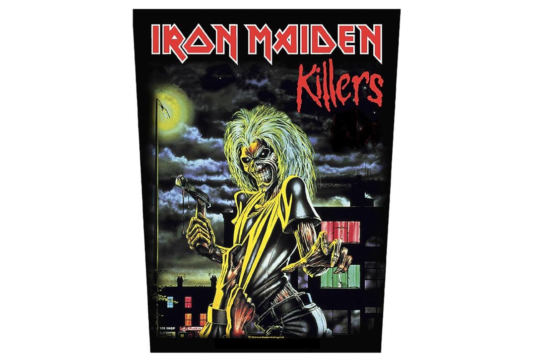 Official Band Merch | Iron Maiden - Killers Printed Back Patch