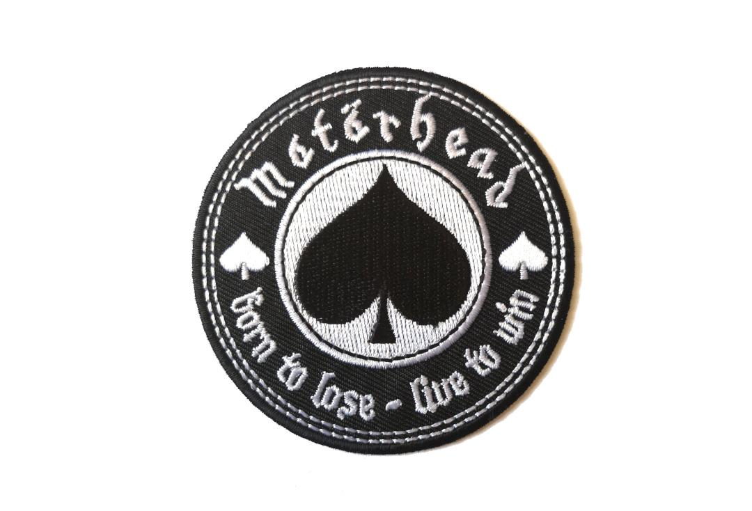 Official Band Merch | Motorhead - Born To Lose, Live To Win Woven Patch