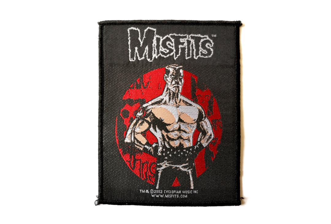 Official Band Merch | Misfits - Lukic Woven Patch