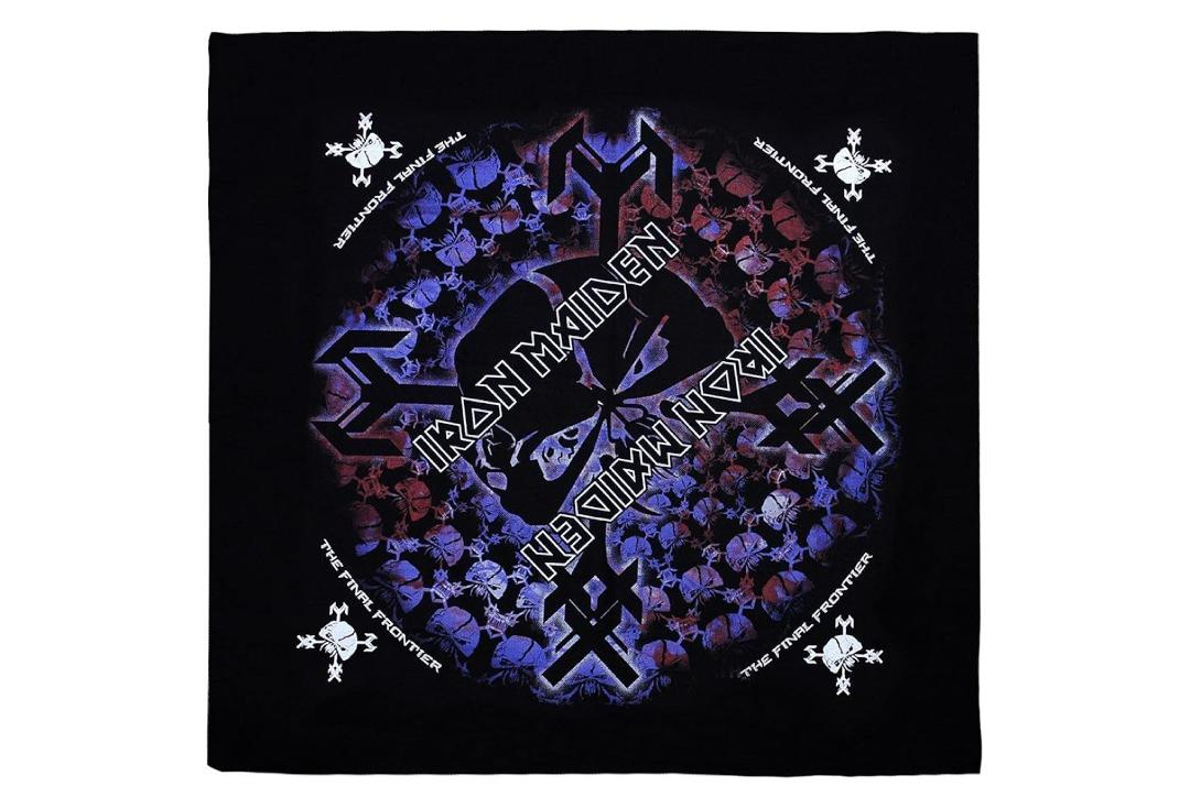 Official Band Merch | Iron Maiden - The Final Frontier Skull Official Bandana