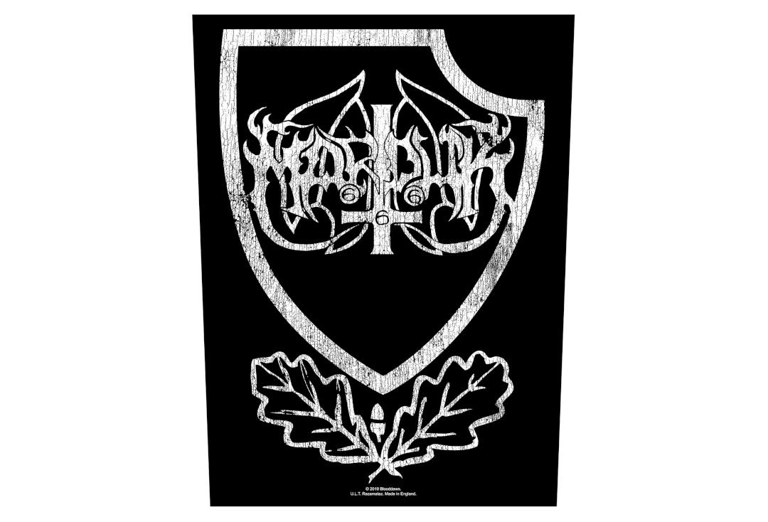 Official Band Merch | Marduk - Panzer Crest Printed Back Patch