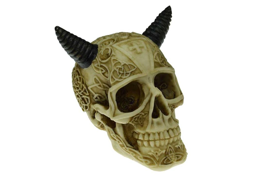 Void Clothing | Ox Horn Skull Decoration