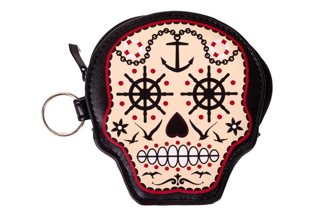 Banned Apparel | Prime Time Skull Coin Purse