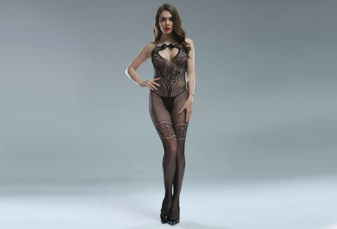 Cindylove | The Rhianna Body Stocking - Front