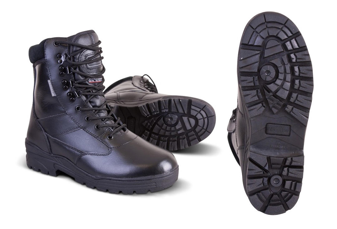 Kombat | Leather Patrol Boot