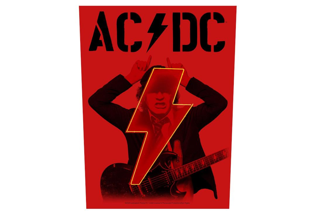 Official Band Merch | AC/DC - PWR UP Printed Back Patch