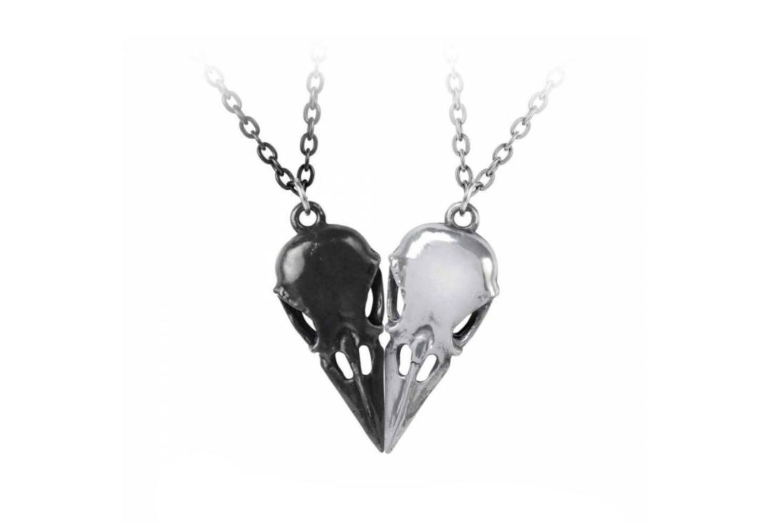 Alchemy Gothic | Coeur Crane Pendant - Together