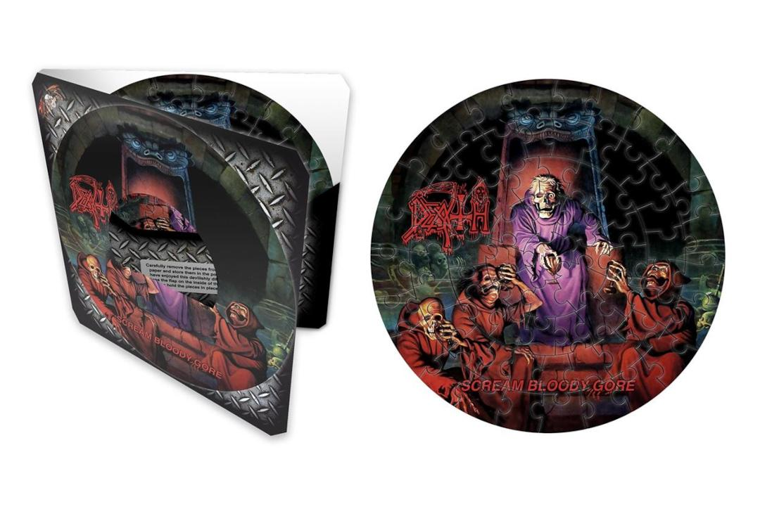 Official Band Merch | Death - Scream Bloody Gore Official Jigsaw