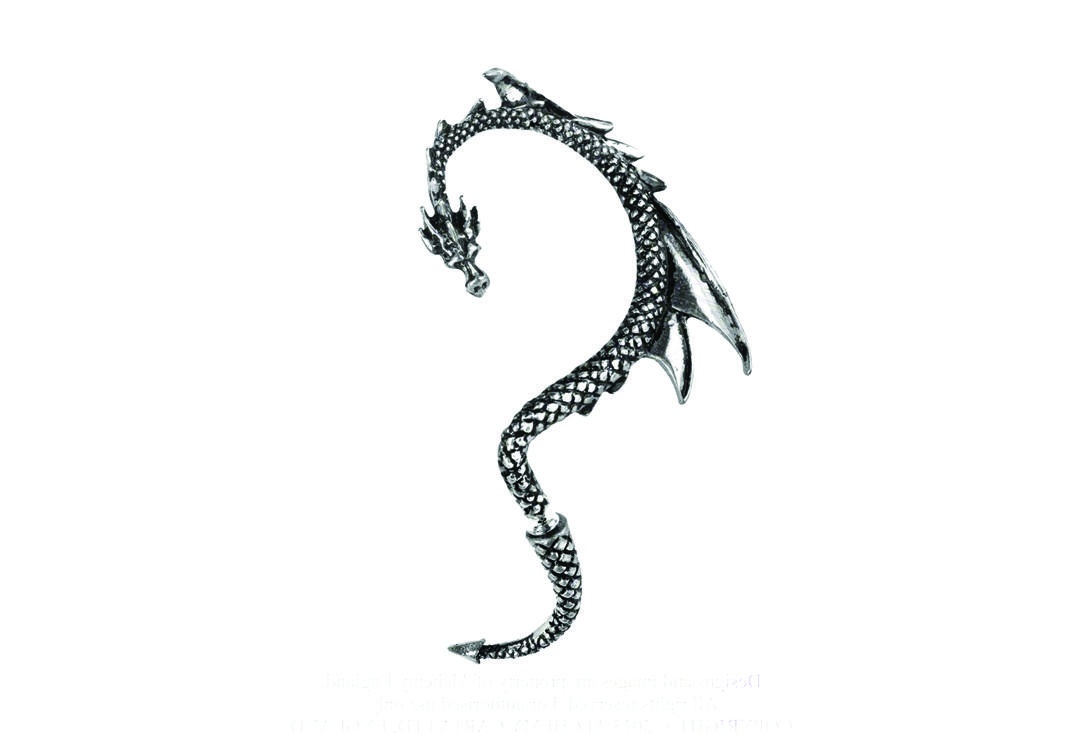 Alchemy Gothic | Dragon's Lure Ear Wrap - Left