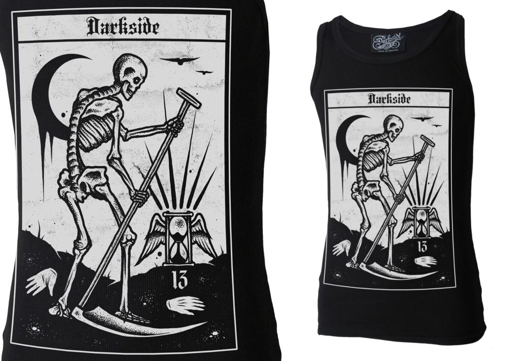Darkside | Death Tarot Unisex Beater Vest
