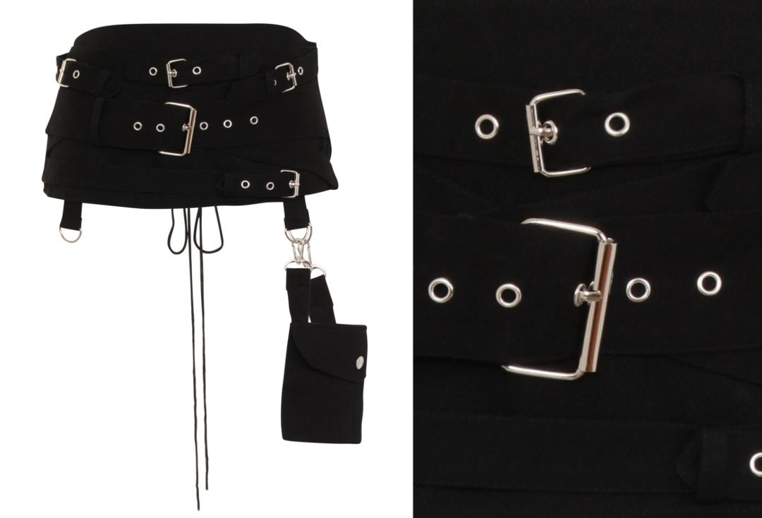 Necessary Evil | Hel Pocket Multi Belt Cincher - Front