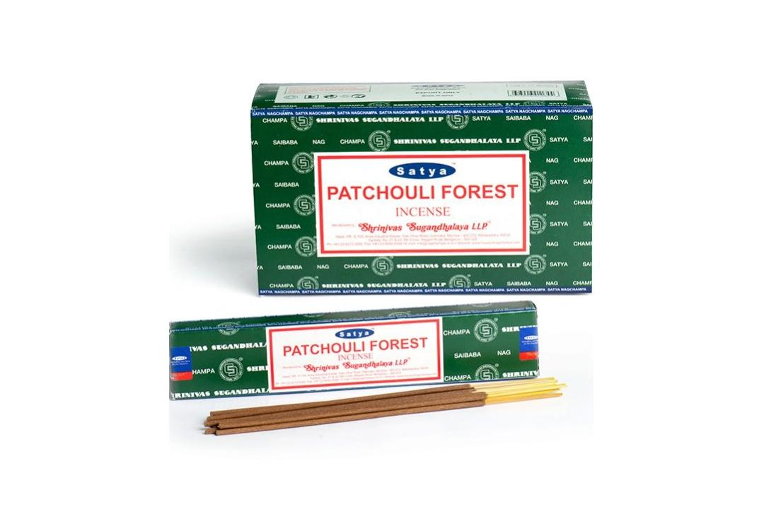 Satya | Patchouli Forest Incense Sticks