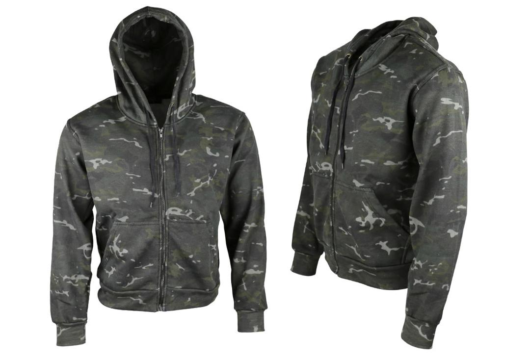 Kombat | BTP Camo Zip Hood - Alternate View