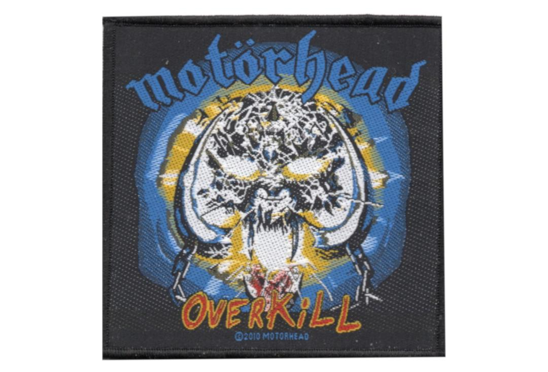 Official Band Merch | Motorhead - Overkill Woven Patch