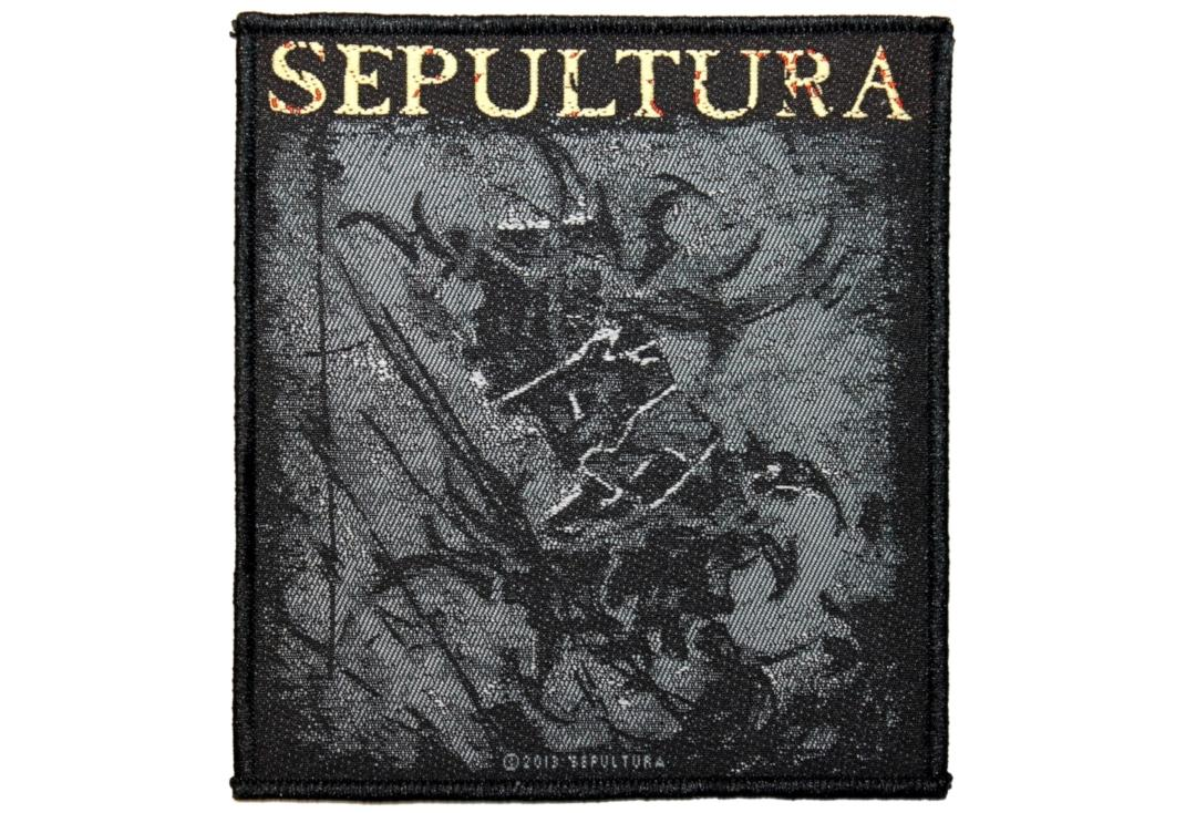 Official Band Merch | Sepultura - The Mediator Woven Patch