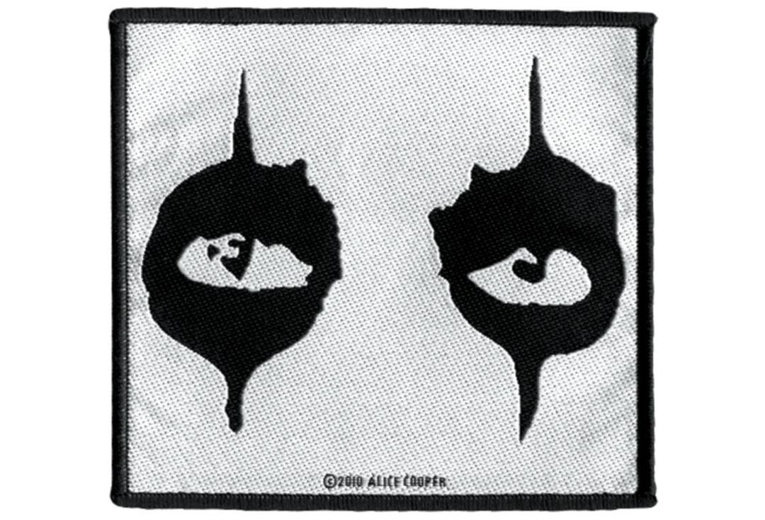 Official Band Merch | Alice Cooper - The Eyes Woven Patch