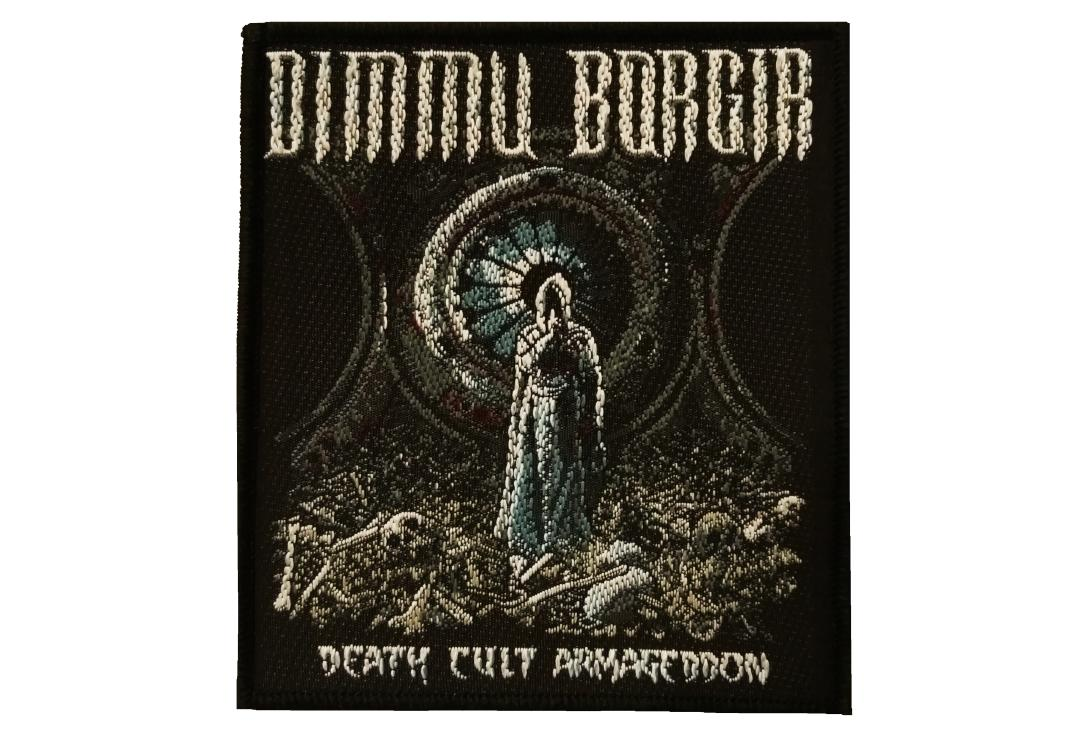 Official Band Merch | Dimmu Borgir - Death Cult Armageddon Woven Patch