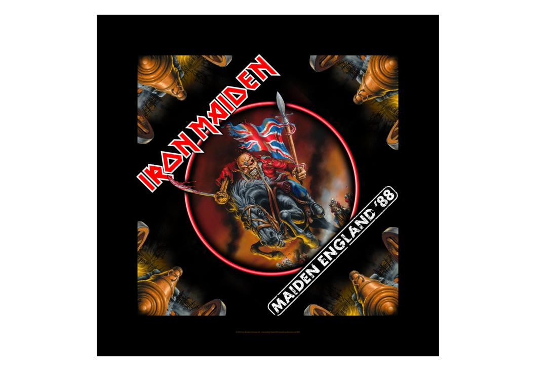 Official Band Merch | Iron Maiden - Maiden England Bandana