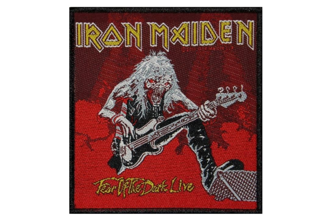 Official Band Merch | Iron Maiden - Fear Of The Dark Live Woven Patch
