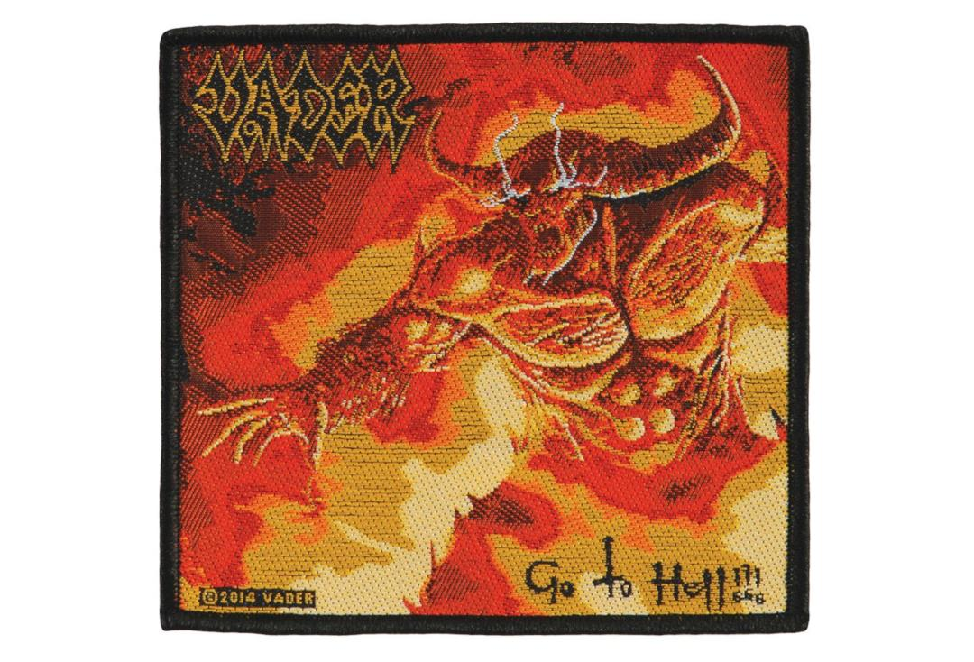 Official Band Merch | Vader - Go To Hell Woven Patch