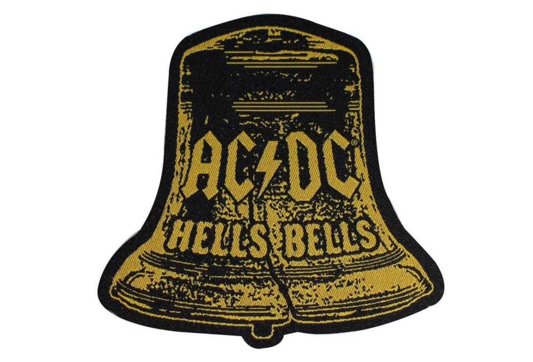 Official Band Merch | AC/DC - Hells Bells Woven Patch