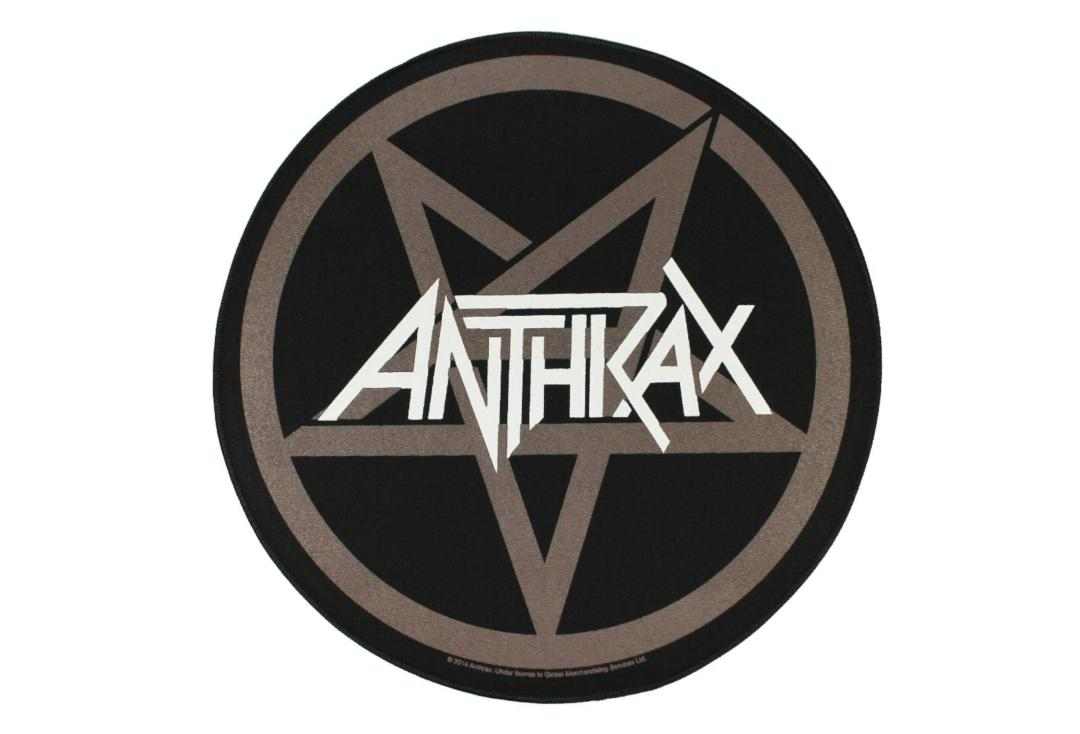 Official Band Merch | Anthrax - Pentathrax Printed Back Patch