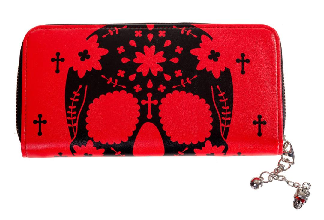 Banned Apparel | Red Head Rush Purse - Front