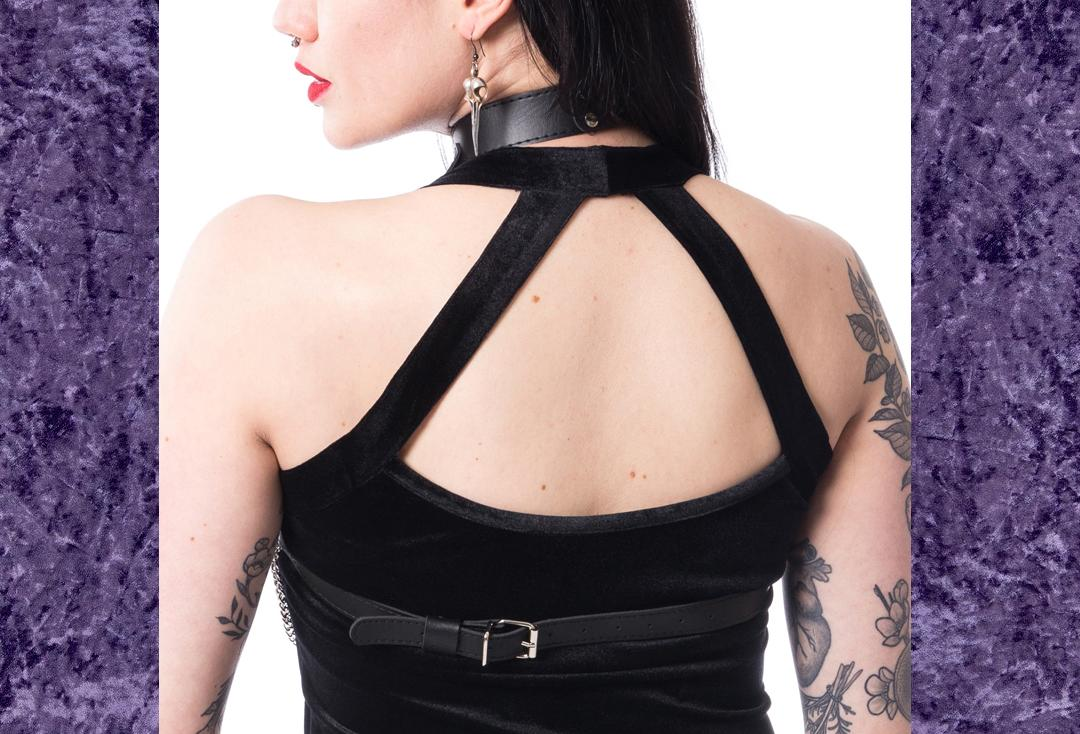 Poizen Industries | Mase Ring & Chain Harness - Back