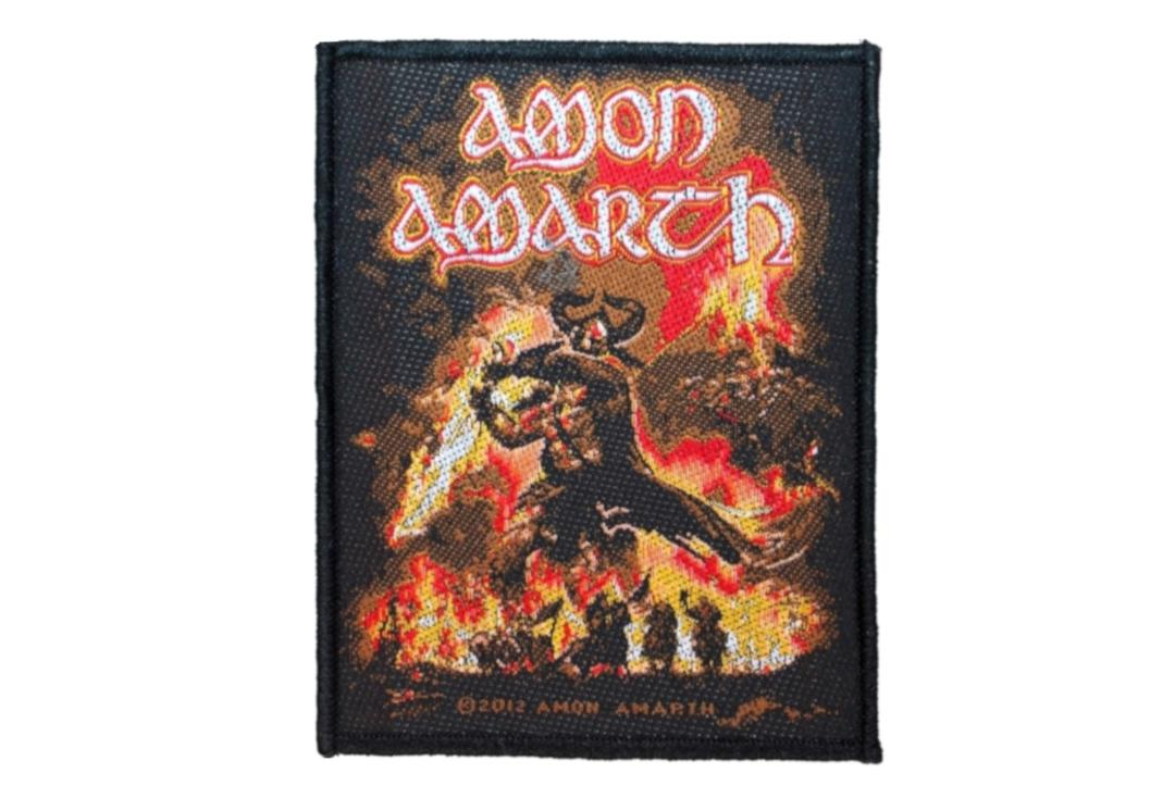 Official Band Merch | Amon Amarth - Surtur Rising Woven Patch