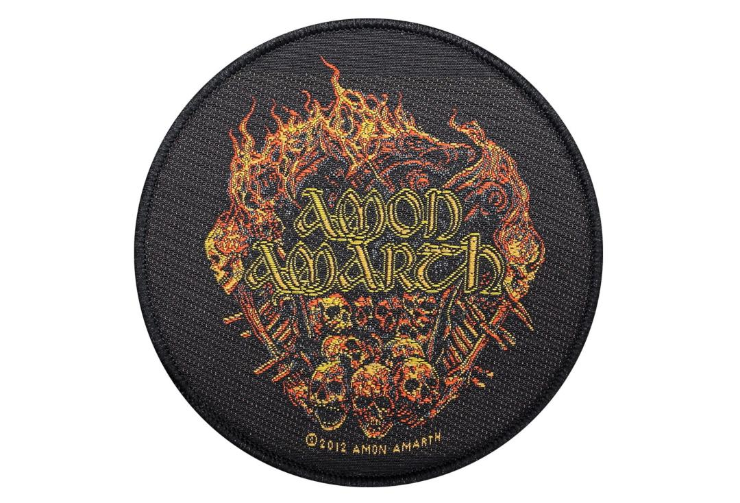 Official Band Merch | Amon Amarth - Battlefield Woven Patch