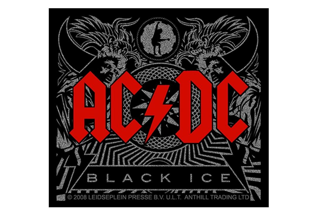 Official Band Merch | AC/DC - Black Ice Vinyl Sticker