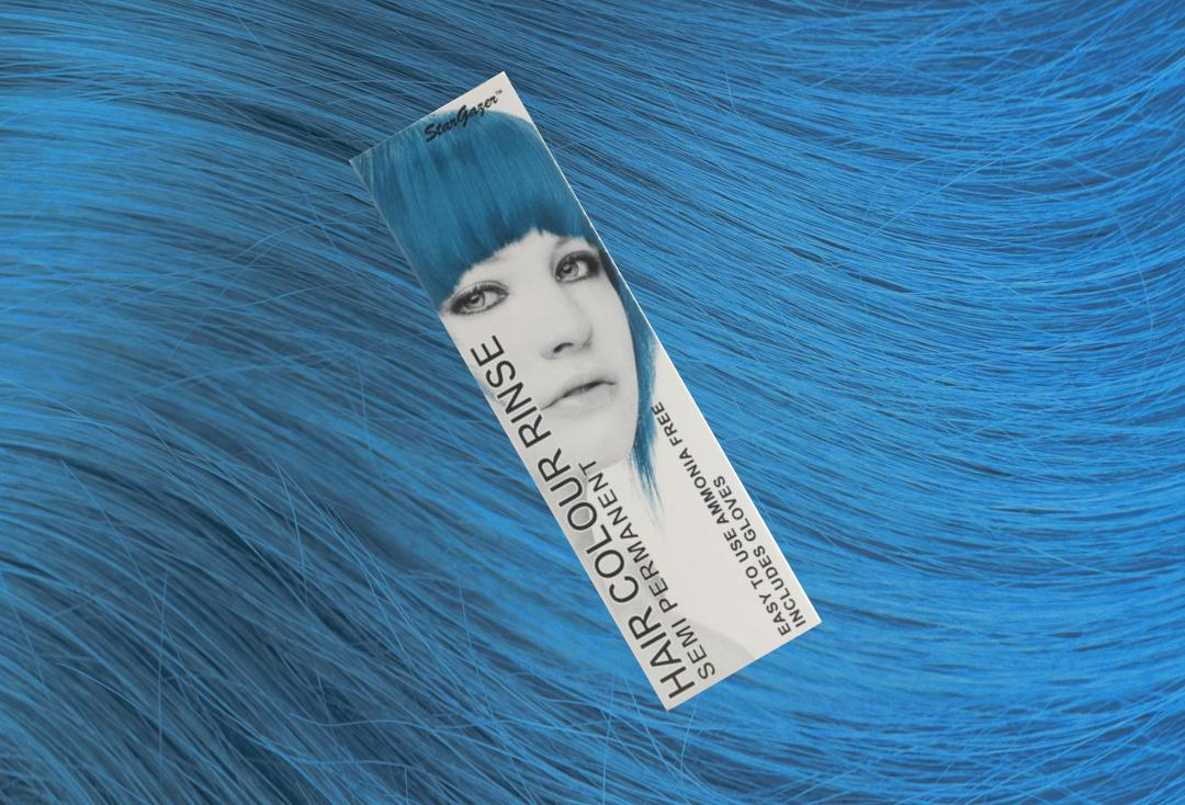 Stargazer | UV Turquoise Semi-Permanent Hair Colour