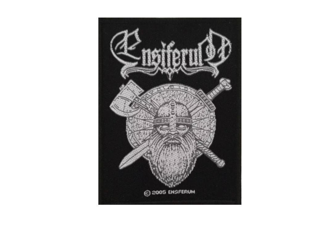 Official Band Merch | Ensiferum - Sword & Axe Woven Patch