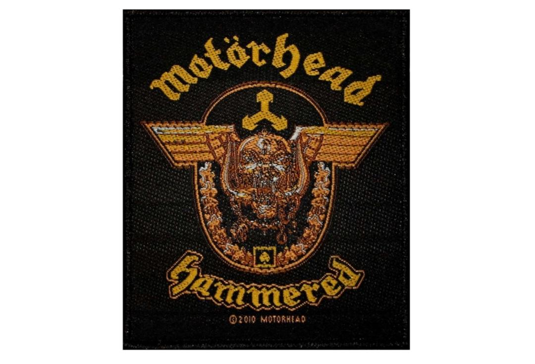 Official Band Merch | Motorhead - Hammered Woven Patch