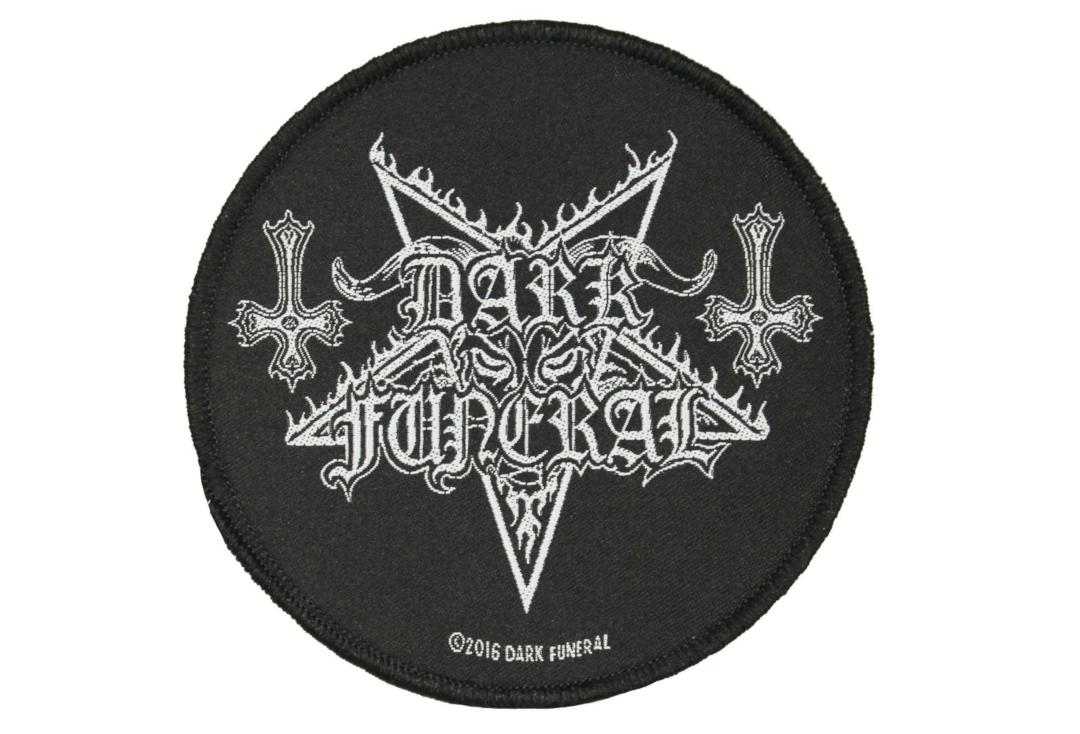 Official Band Merch | Dark Funeral - Logo Woven Patch