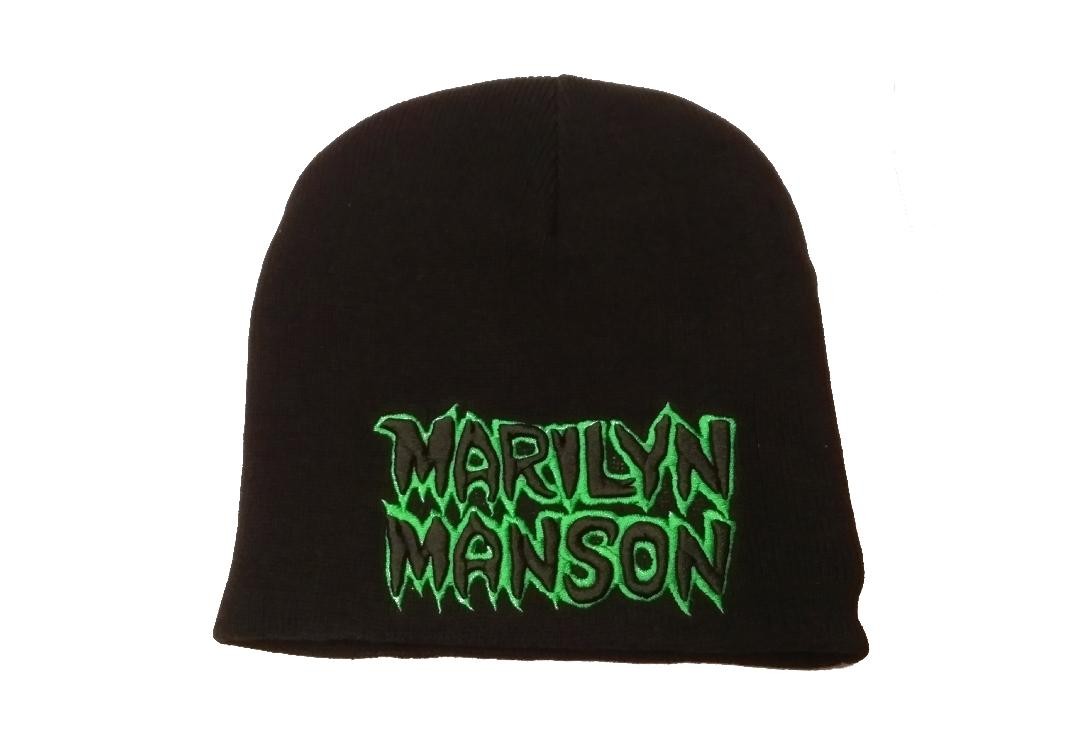 Official Band Merch | Marilyn Manson - Logo Beanie Hat