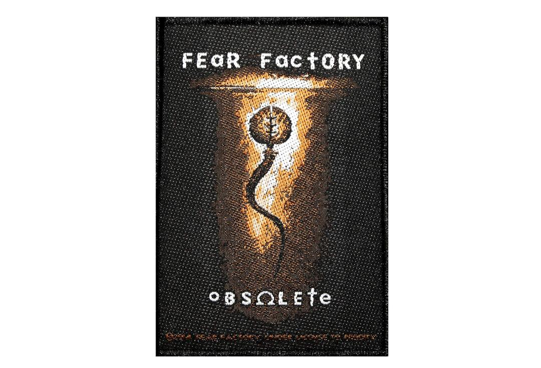 Official Band Merch | Fear Factory - Obsolete Woven Patch