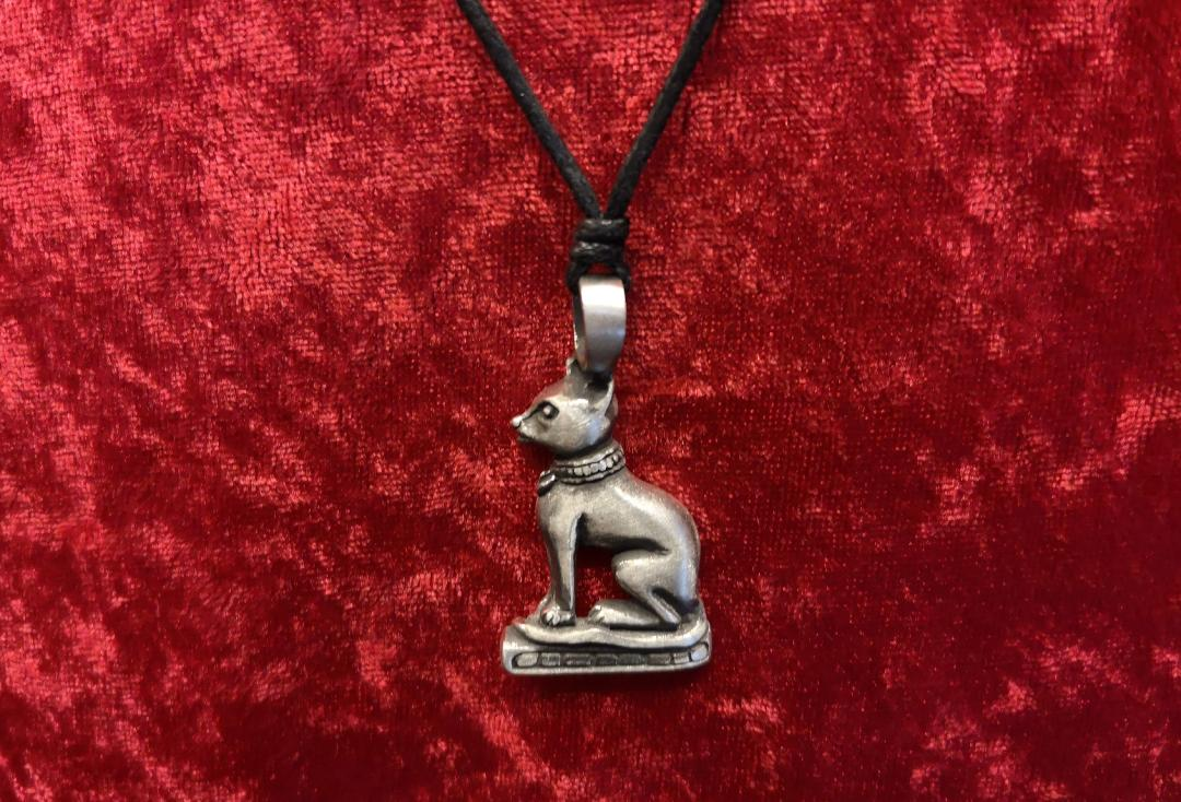 Void Clothing | Egyptian Bast Pewter Pendant