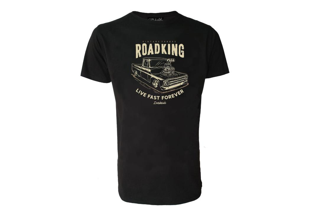Darkside Clothing | Road King Short Sleeve Men's T-Shirt - Full View