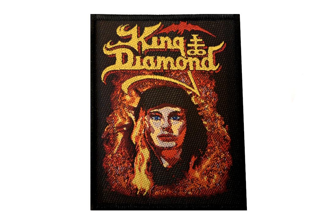 Official Band Merch |   King Diamond -  Fatal Portrait Woven Patch