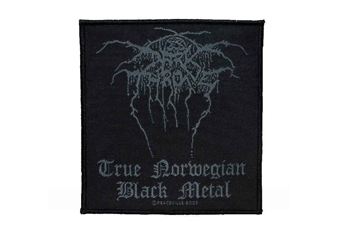 Official Band Merch | Darkthrone - True Norwegian Black Metal Woven Patch